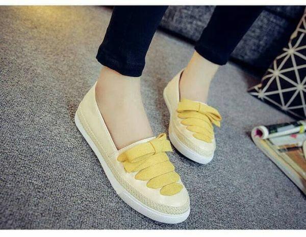 Sepatu Slip On Teplek Wanita Model Terbaru Modern