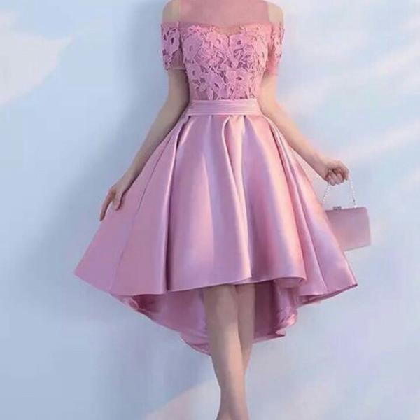 Model Baju Mini Dress Pesta Simple Bahan Brukat