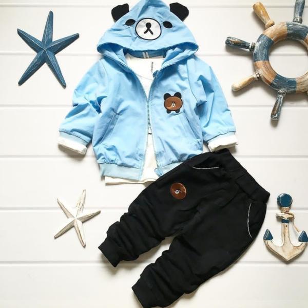 Setelan Jaket dan Celana Panjang Anak Laki-laki