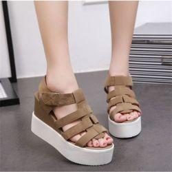 Sandal Wedges Remaja Model Terbaru Masa Kini