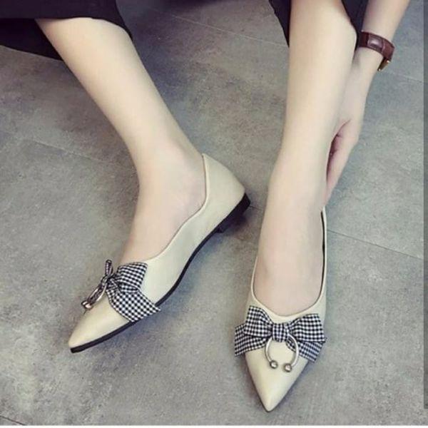 Sepatu Teplek Flat Shoes Pita Cantik Model Terbaru