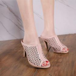 Sandal High Heels Laser Tinggi Model Terbaru