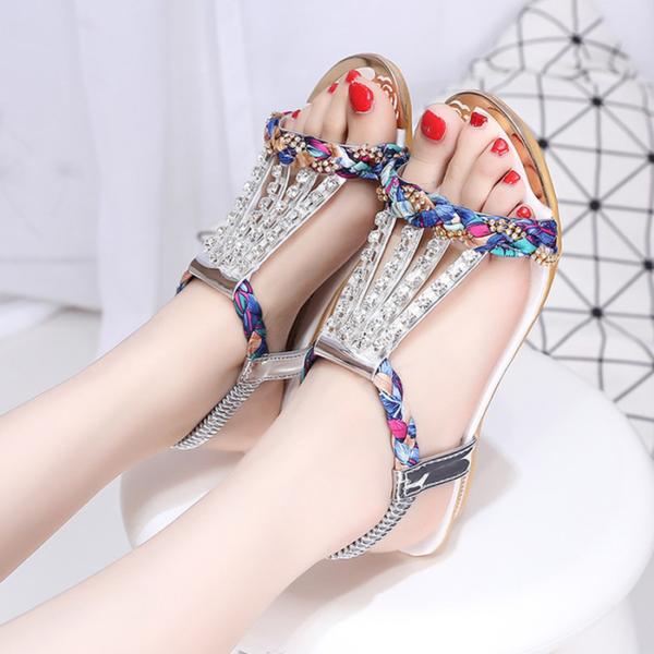 Sandal Teplek Wanita Motif Cantik Model Terbaru