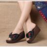 Sandal Wedges Simple Cantik Model Terbaru