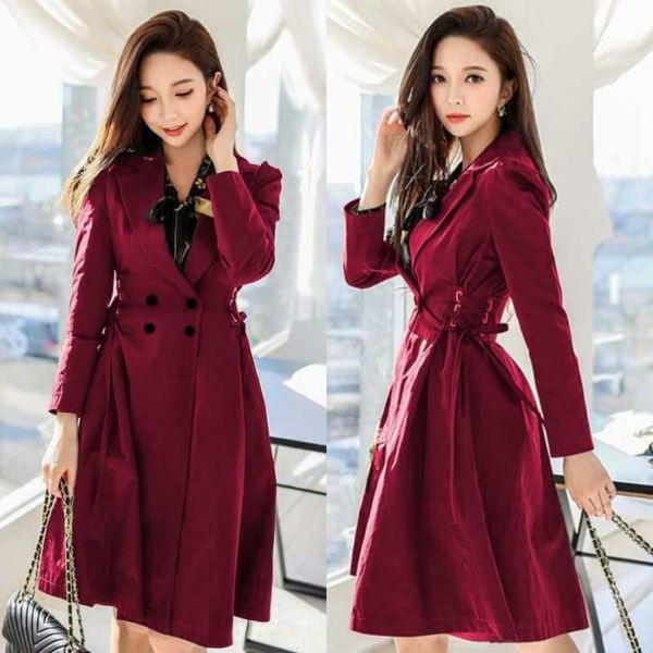 Model Blazer Coat Wanita Terbaru Ala Korea