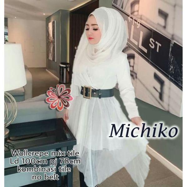 Model Baju Atasan Wanita Muslim Tunik Terbaru