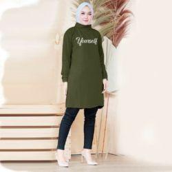 Model Baju Atasan Wanita Tunik Hijab Terbaru