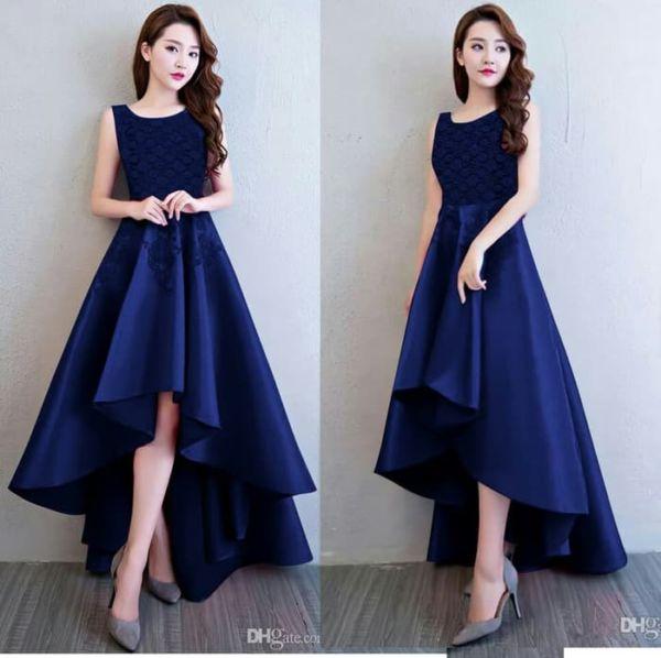 Baju Dress Pesta Wanita Lengan Buntung Cantik