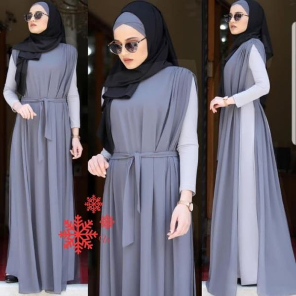 Model Baju Gamis Long Dress Muslim Terbaru