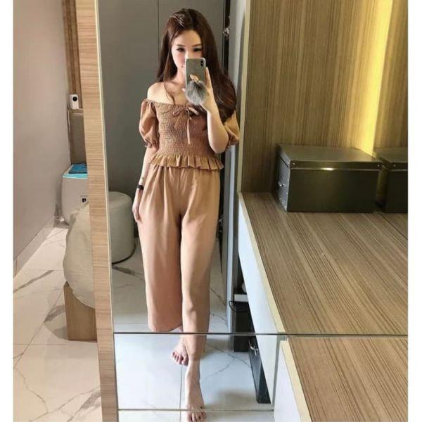 Model Baju Jumpsuit Sabrina Cantik Terbaru