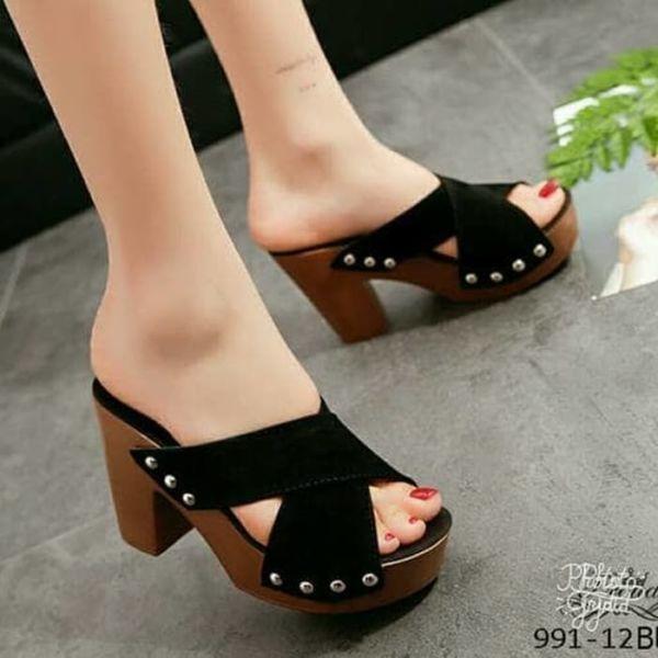 Sandal High Heels Cantik Modern Masa Kini