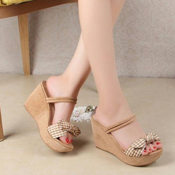 Sandal Wedges Pita Cantik Model Terbaru