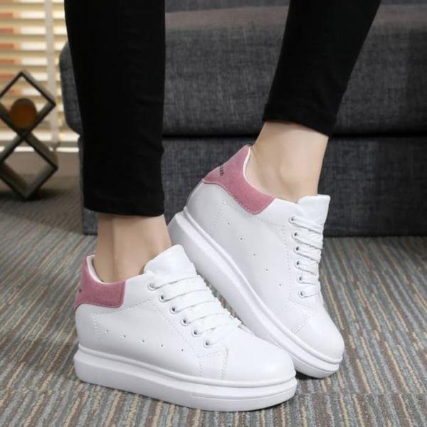 Sepatu Boots Wedges Tali Model Terbaru