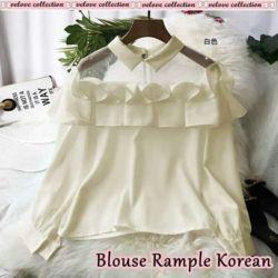 Baju Atasan Blouse Wanita Model Korean Terbaru