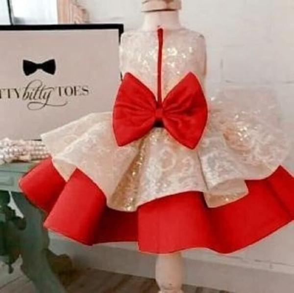 Baju Dress Pesta Princess Anak Perempuan Cantik