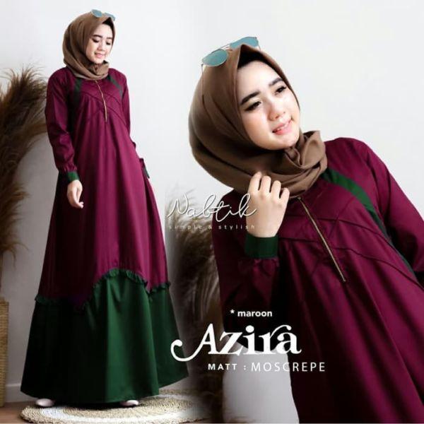 Baju Gamis Long Dress Muslim Daily Model Terbaru