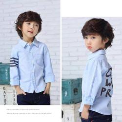Baju Kemeja Anak Pria Lengan Panjang Model Terbaru