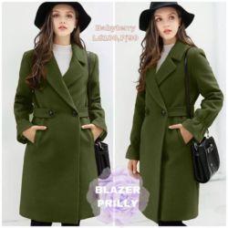 Blazer Coat Wanita Cantik Model Terbaru Masa Kini