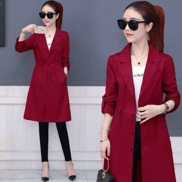 Blazer Coat Wanita Model Terbaru Cantik Masa Kini