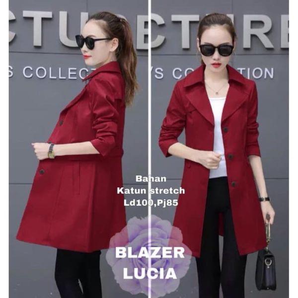 Blazer Coat Wanita Model Terbaru Masa Kini