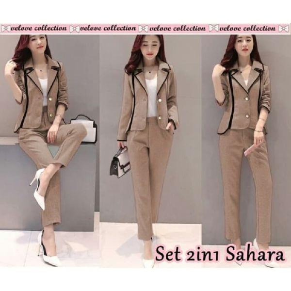 Setelan Blazer dan Celana Wanita Model Terbaru