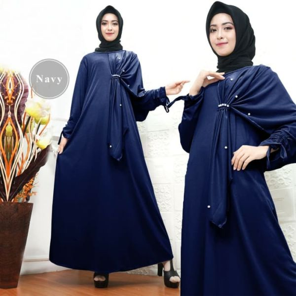 Baju Gamis Pesta Layer Cantik Model Terbaru