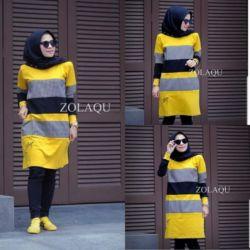 Baju Tunik Atasan Wanita Muslim Model Terbaru