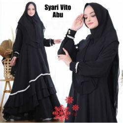 Pakaian Muslim Wanita Setelan Baju Gamis Syari