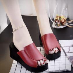Sandal Wedges Selop Cantik Model Terbaru