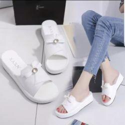 Sandal Wedges Selop Simple Modern Masa Kini
