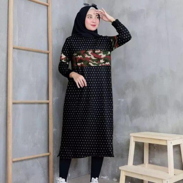 Baju Atasan Wanita Model Tunik Motif Terbaru