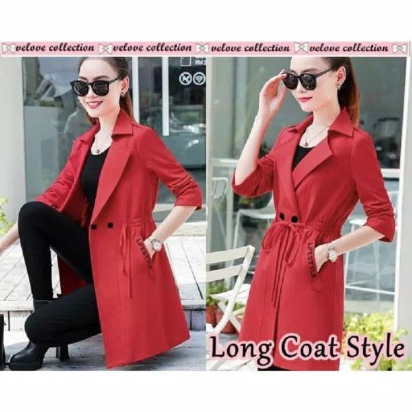 Baju Blazer Wanita Modern Cantik Ala Korea