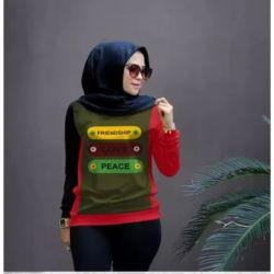 Baju Atasan Wanita Lengan Panjang Simple