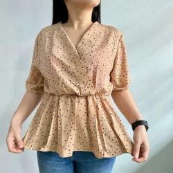 Baju Blouse Wanita Lengan Pendek Cantik
