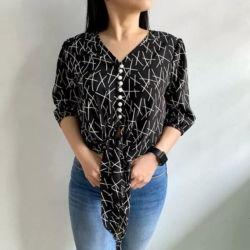 Model Baju Atasan Wanita Motif Terbaru