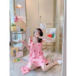 Baju Mini Dress Daster Tidur Tanktop Cantik