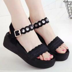 Sepatu Sandal Wedges Remaja Cantik Modern