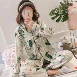 Setelan Baju Tidur Piyama Lengan Panjang Dewasa