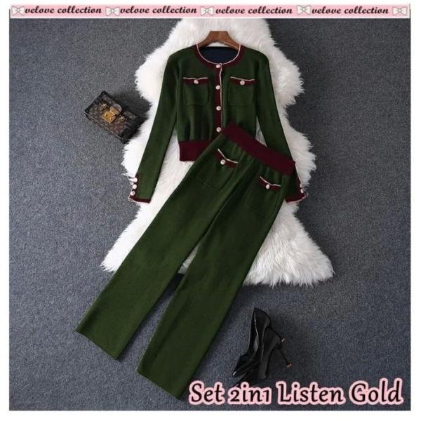 Setelan Baju dan Celana Panjang Ala Korea