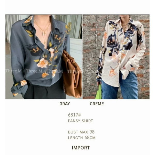 Baju Kemeja Wanita Import Model Terbaru