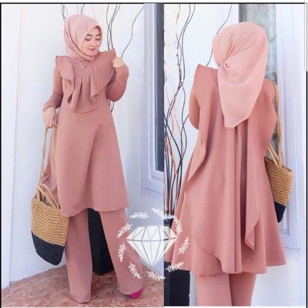 Baju Muslim Setelan Wanita RYN Fashion Cantik