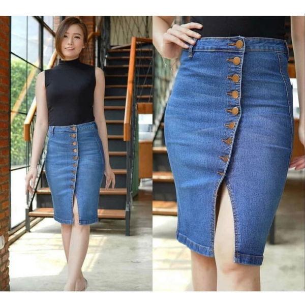 Jual Rok Pendek Bahan Jeans Harga Murah
