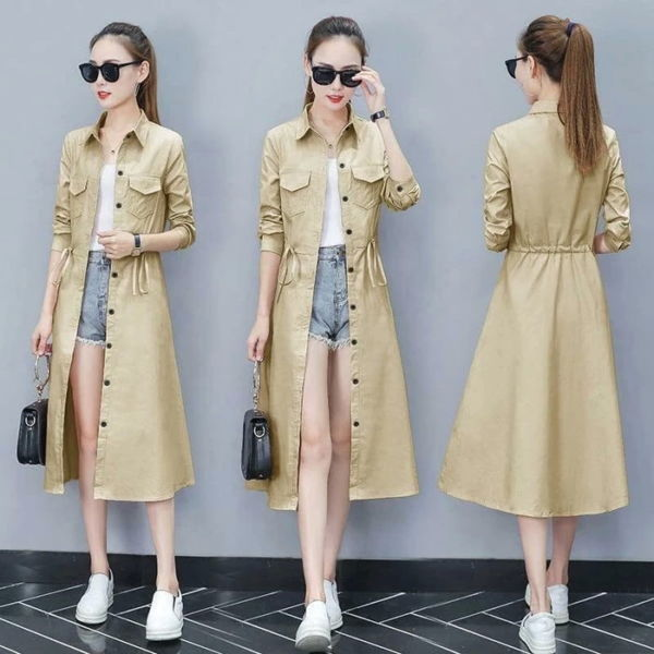 Long Coat Blazer Panjang Wanita Murah