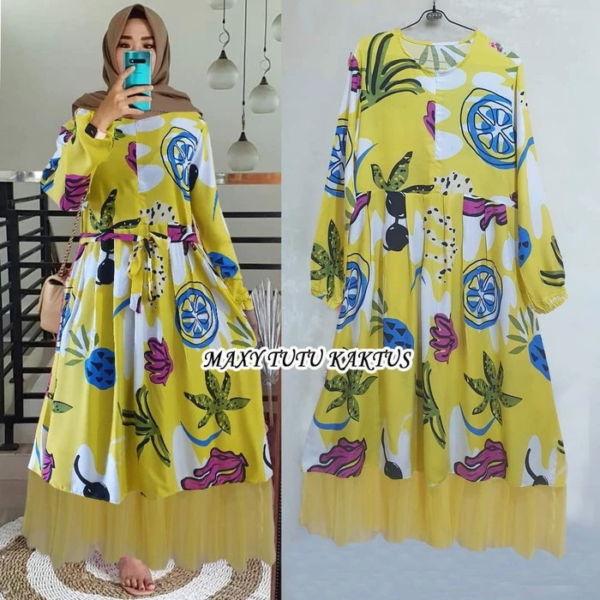 Model Baju Gamis Home Dress Tutu Terbaru
