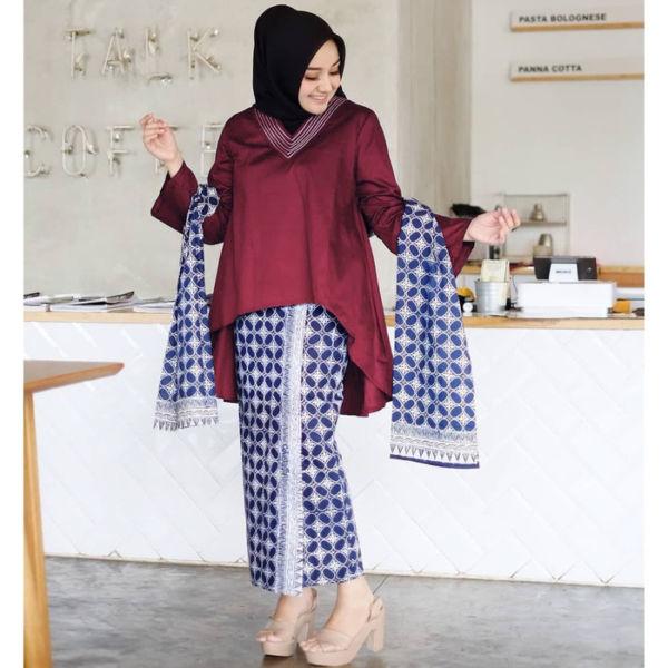Setelan Baju Kebaya Model Penguin Terbaru