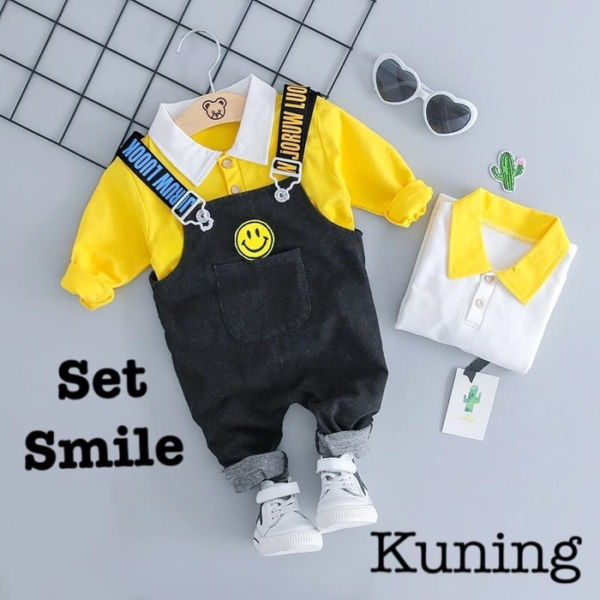 Setelan Baju Kodok Jumpsuit Anak Laki-laki