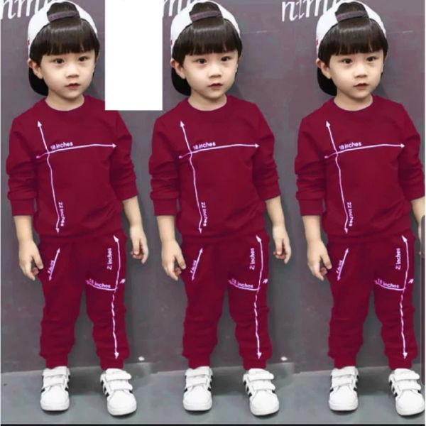 Setelan Baju dan Celana Panjang Anak Cowok Sporty