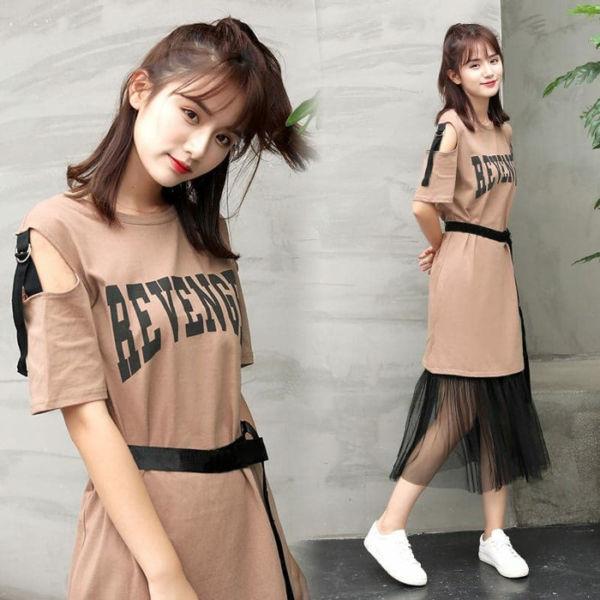 Baju Dress Pendek Tutu Cantik Model Terbaru