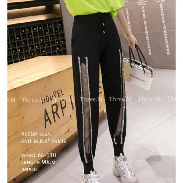 Celana Jogger Pants Blink Panjang Wanita