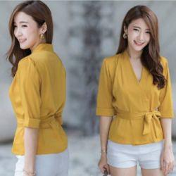 Baju Blouse Atasan Wanita Model Korea Terbaru